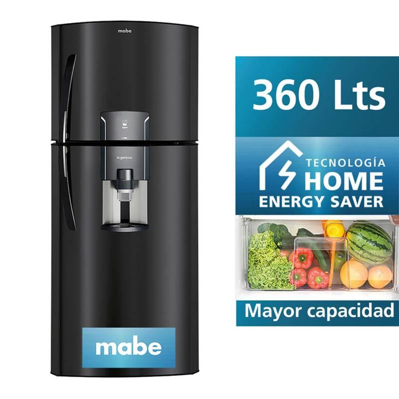 MABE - Refrigeradora Mabe No Frost 360L  BLACK STEEL