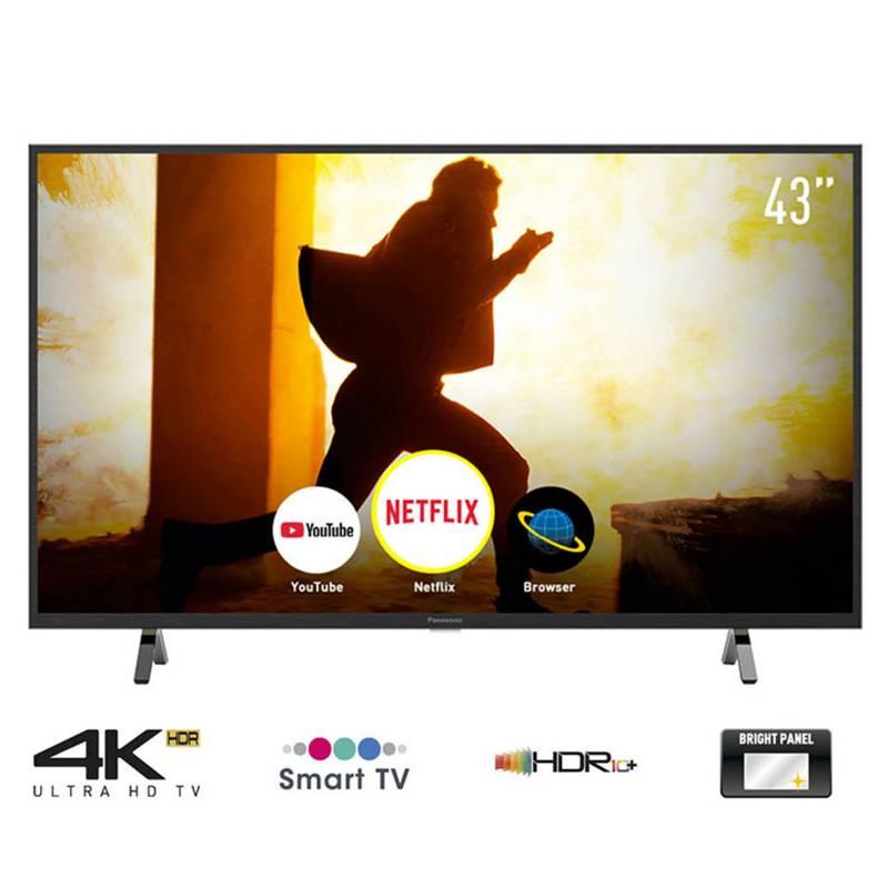 "PANASONIC - Televisor 43"" 4K Ultra HD Smart TV TC-43GX500P"