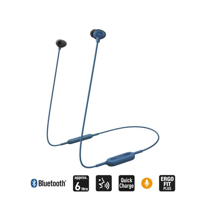 PANASONIC - Audífonos Bluetooth NJ310 Azul