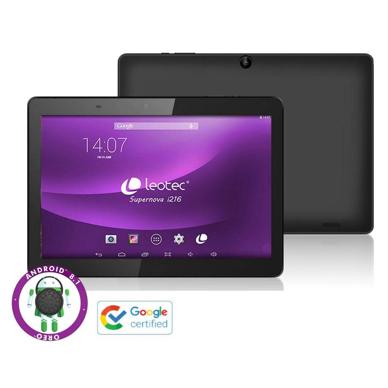"LEOTEC - Tablet 10.1"" Google Certified QuadCore 2GB 16GB Supernova i216"