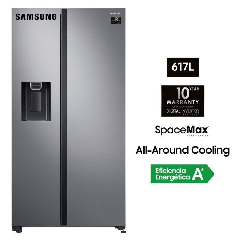 SAMSUNG - Refrigerador SBS 617 litros  RS64R5311M9/PE