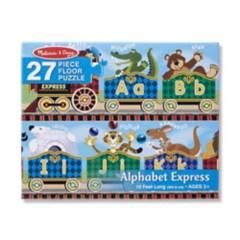 MELISSA & DOUG - Rompecabezas Piso Abc Express 27 Pzas