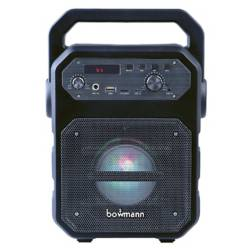 BOWMANN - Parlante Portátil Bluetooth Usb 15W