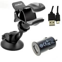PROSWAT - Soporte Celular Cargador Usb + Cable
