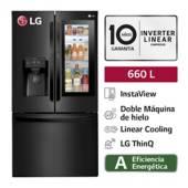 LG - Refrigeradora 660 Litros LM78SXT