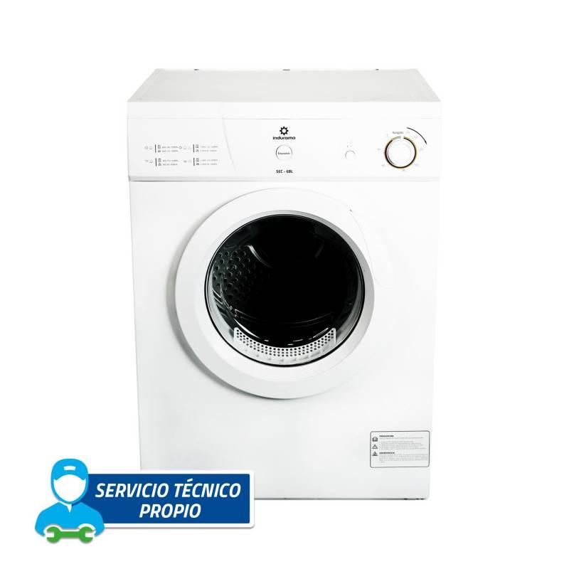 INDURAMA - Secadora Eléctrica 6Kg Blanca