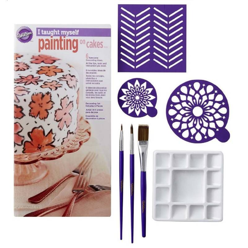 WILTON - Kit para decorar Tortas 7 Piezas