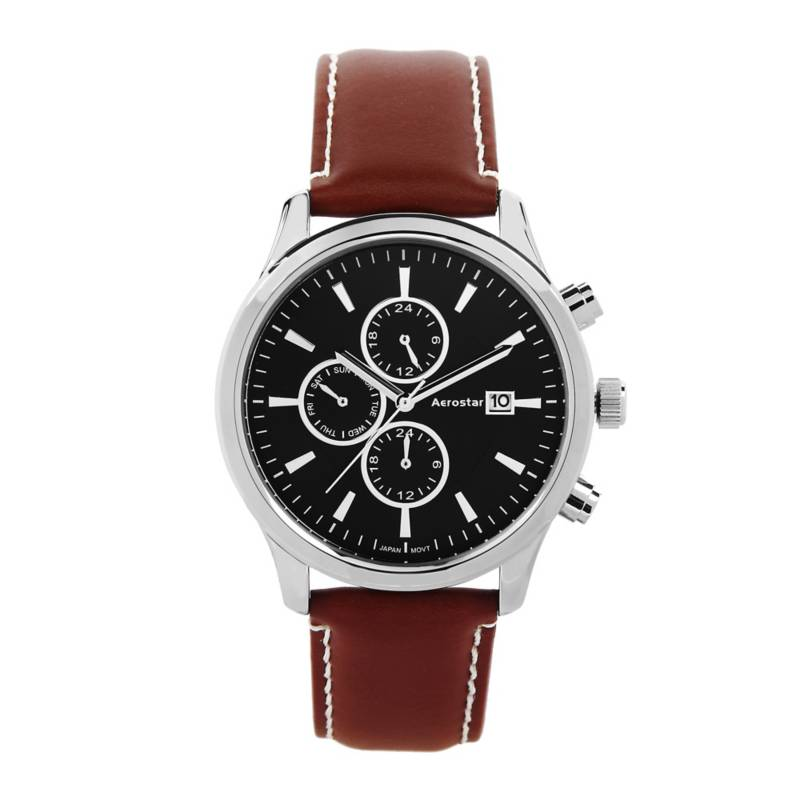 AEROSTAR - Reloj Análogo Hombre Aerostar