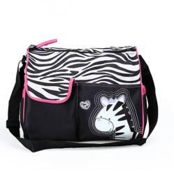 BABY FEES - Bolso Pañalero Animal Print Cebra