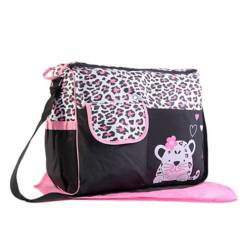 BABY FEES - Bolso Pañalero Animal Print Tigresa
