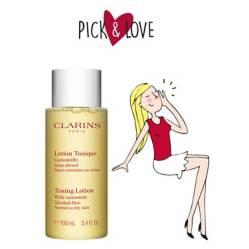 CLARINS  - P&L Toning Lotion Dry Skin 100ml 2019
