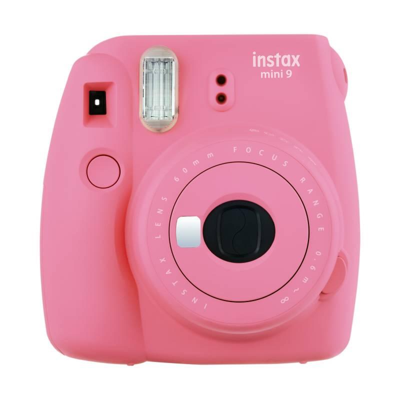 FUJI - Camara Instax Mini9 Rosa Flam