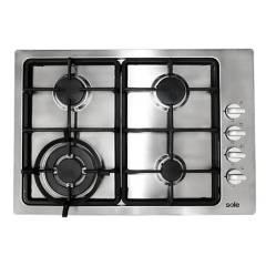 SOLE - Cocina Empotrable Sole 048 Acero Inoxidable  4 quemadores