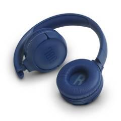 JBL - Headphone T500bt Wireless On-Ear Blue