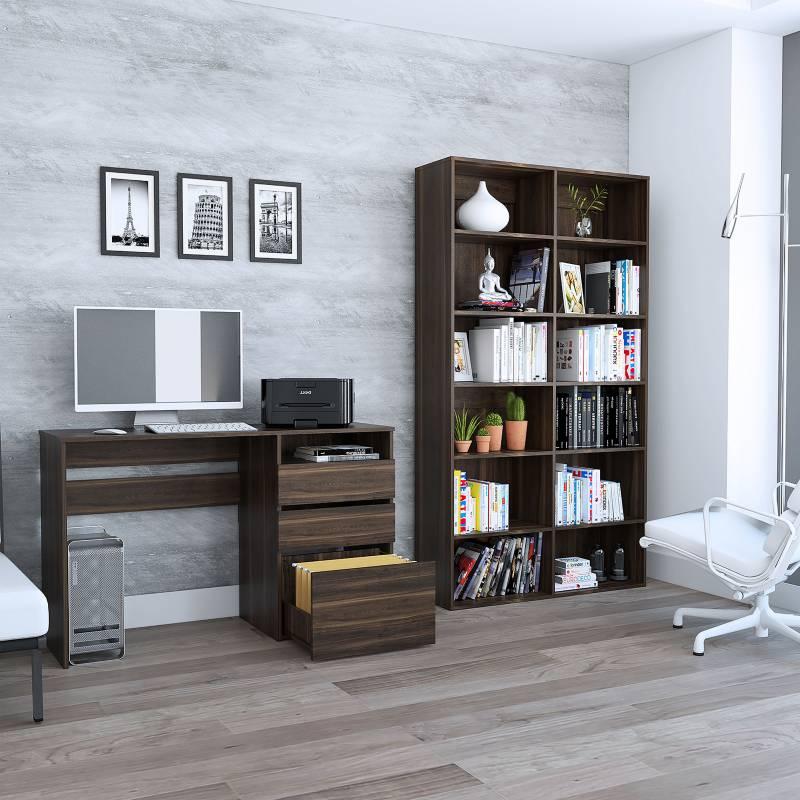 TuHome - Biblioteca + Escritorio Office 7