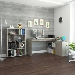 TuHome - Biblioteca + Escritorio Office 8