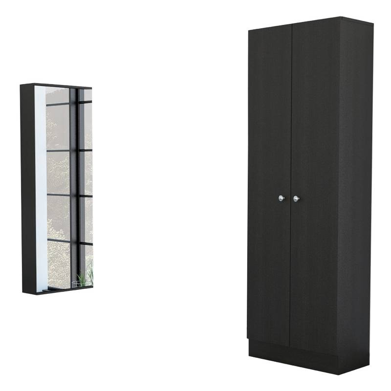 TuHome - Closet Dreams 2 Puertas + Zapatera Dreams con Espejo