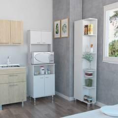 TuHome - Mueble de Cocina Kitchen 54 + Closet