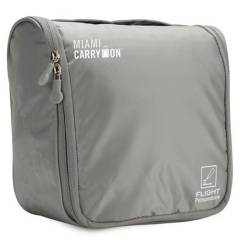 MIAMI CARRY ON - Porta Cosmeticos Gris