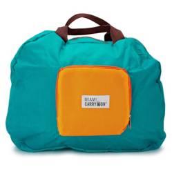 MIAMI CARRY ON - Bolsa De Mano Plegable Azul