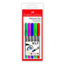 Marcadores Permanentes Multimark Plus x 5 Colores