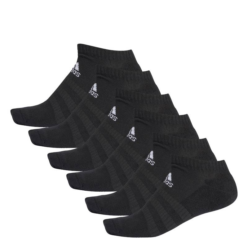Adidas - Medias Hombre Mujer Cush low 6pp