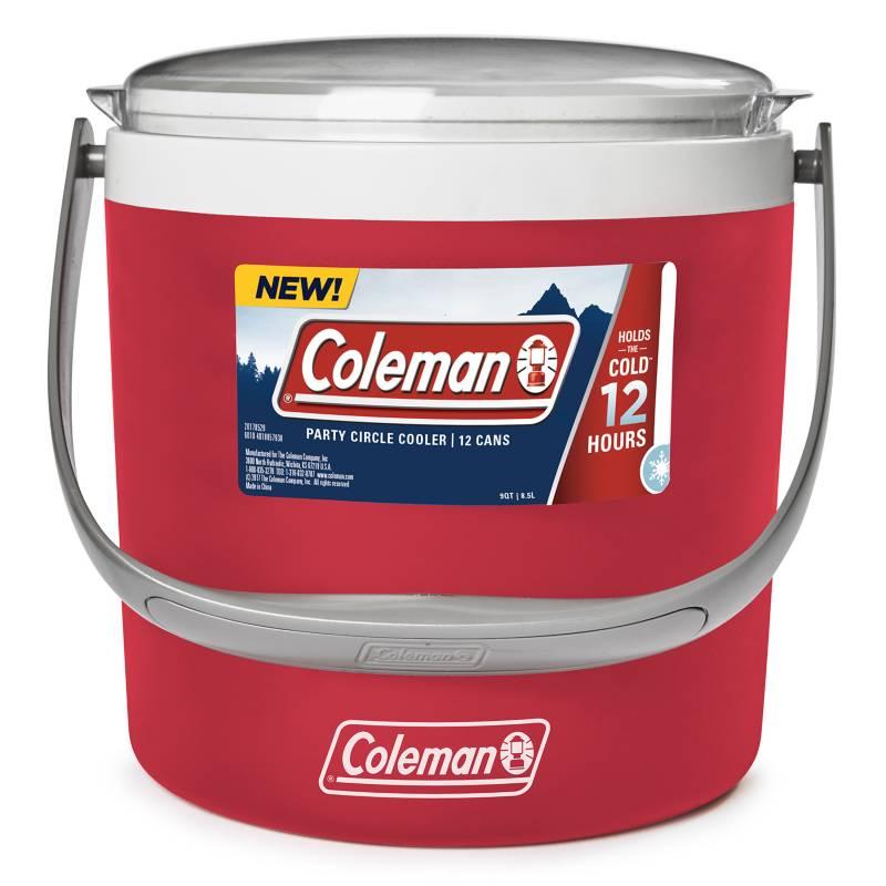 COLEMAN - Cooler Party Circle Rojo