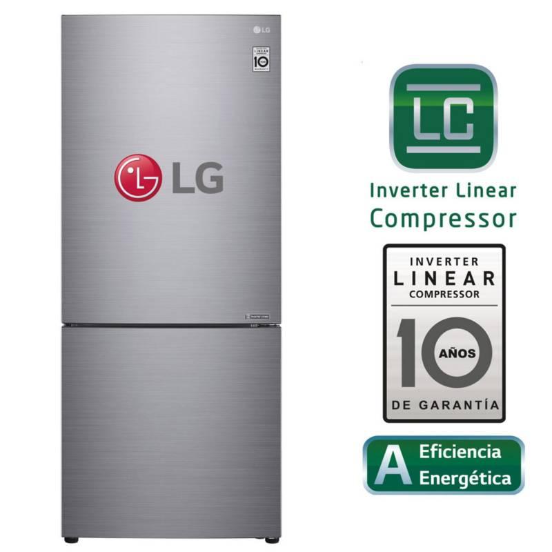 LG - Refrigeradora 408L LB41BPP