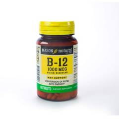 Mason Natural - Vitamina B-12 1000 Mcg