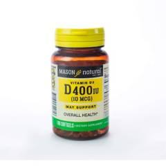 Mason Natural - Vitamina D-400 Ui