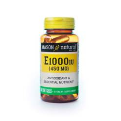 Mason Natural - Vitamina E-1000 Ui