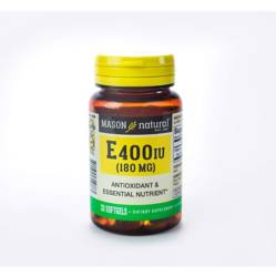 Mason Natural - Vitamina E 400 Iu 30