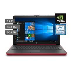 """HP - Laptop 15.6"""" Core i5 8va Gen 8GB RAM 1TB + 2GB Video Nvidia GeForce MX110 - RED"""