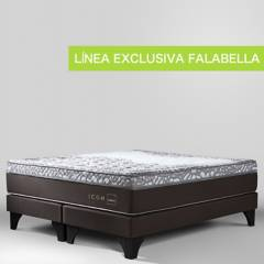 ROSEN - Cama Box Spring Icon King