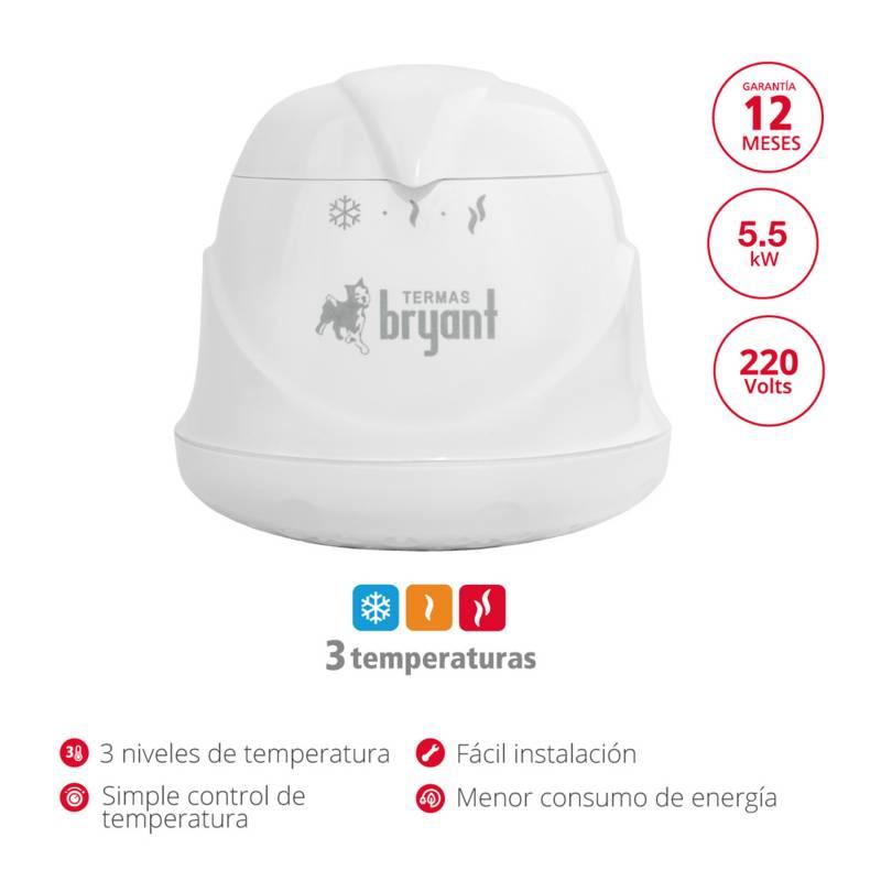 BRYANT - Ducha Eléctrica Linea 5.5kw Bryant