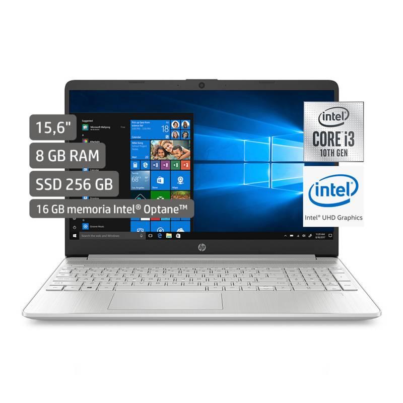 """HP - Laptop 15.6"""" Core i3 10ma Gen 8GB RAM 256GB SSD"""