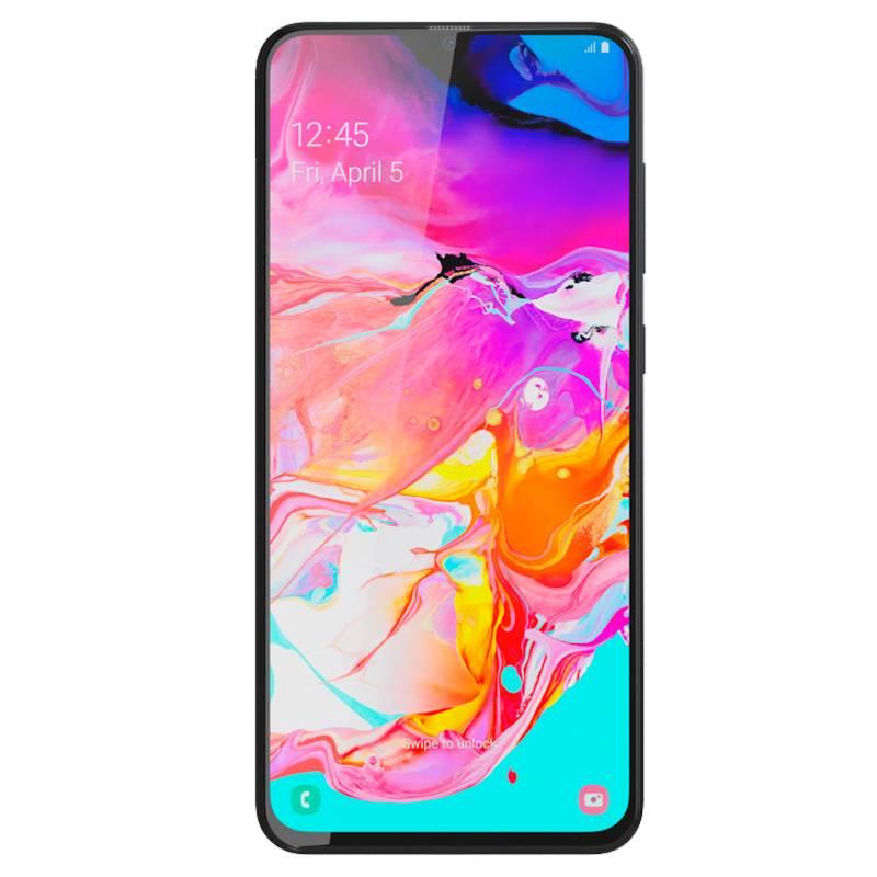 SAMSUNG - Samsung Galaxy A70 Negro 128gb