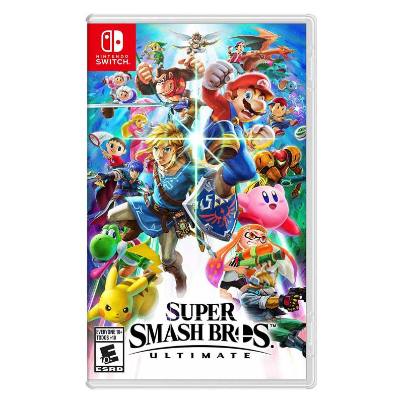 NINTENDO - Videojuego Super Smash Bros Ultimate - Nintendo Switch
