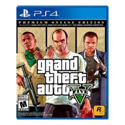 Videojuego Grand Theft Auto V Premium - PS4
