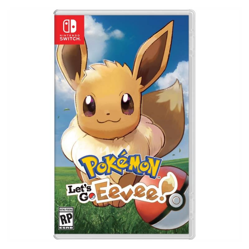 NINTENDO - Videojuego Pokémon Let's Go Eevee - Nintendo Switch