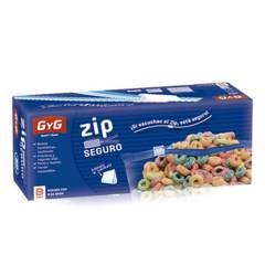 BASA - Bolsa Hermetica Zip Seguro Snack