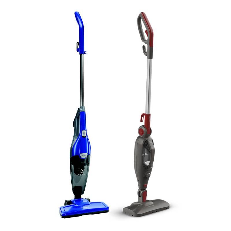 ELECTROLUX - Combo: Limpiador A Vapor Mop10 Electrolux + Escoba Eléctrica Electrolux STK10 600 W Azul