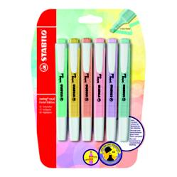 STABILO - Resaltador Swing Cool Pastel x 6