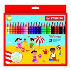 Colores Trio Grueso en Caja x 24