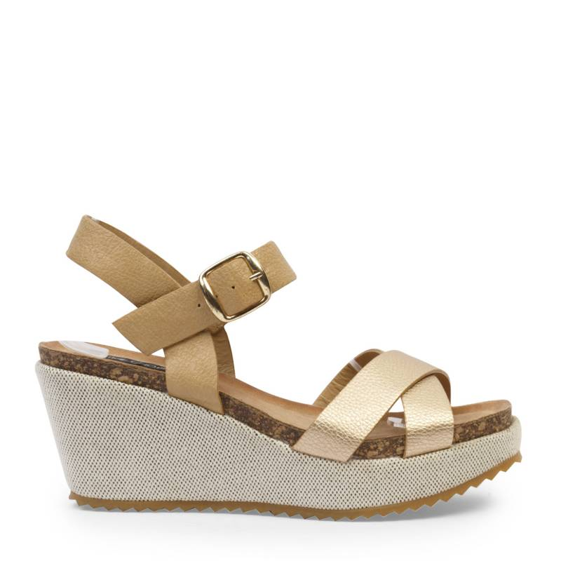 Time Chopper - Sandalias Mujer Rose Gold