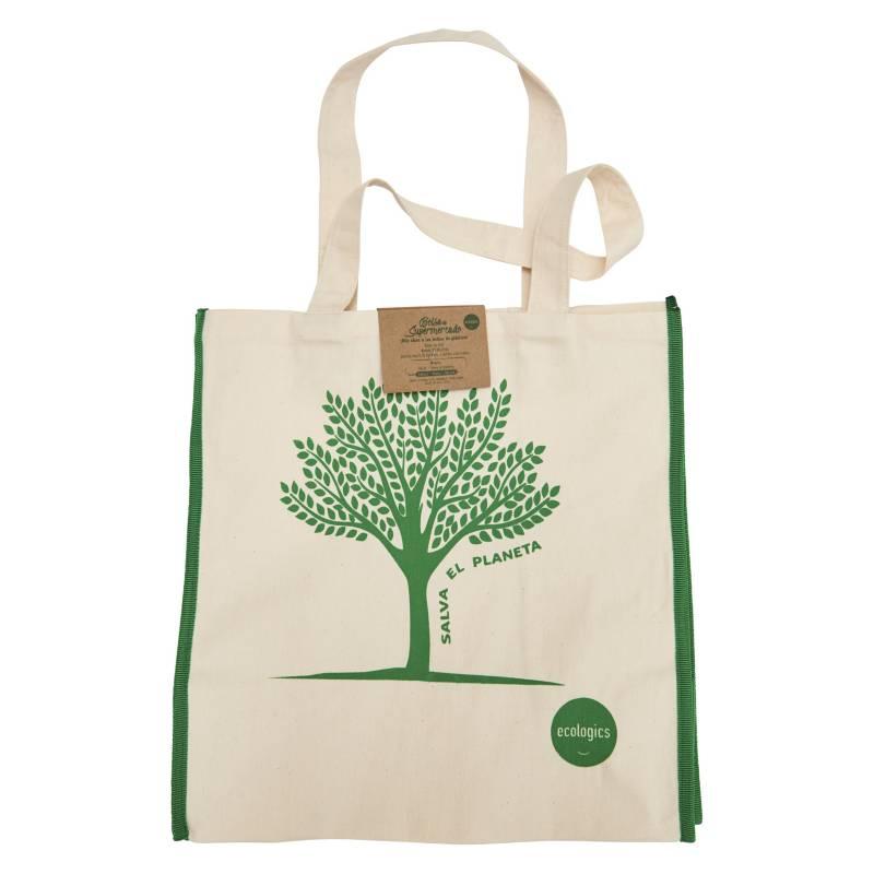 ECOLOGICS - Bolsa de Supermercado Verde
