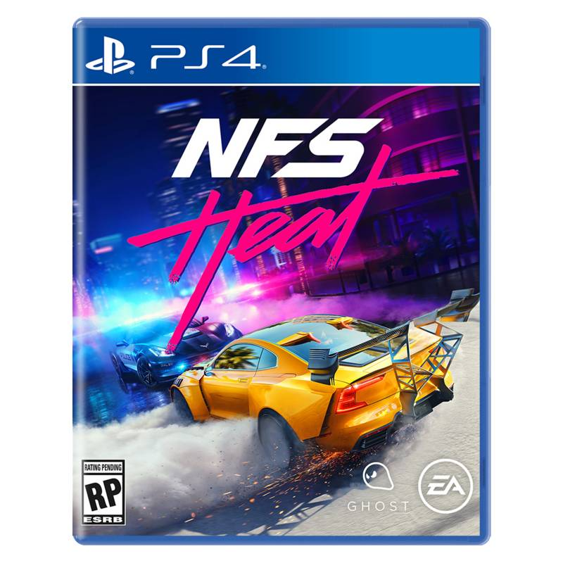 PLAY STATION - Need For Speed Heat - Latam Ps4
