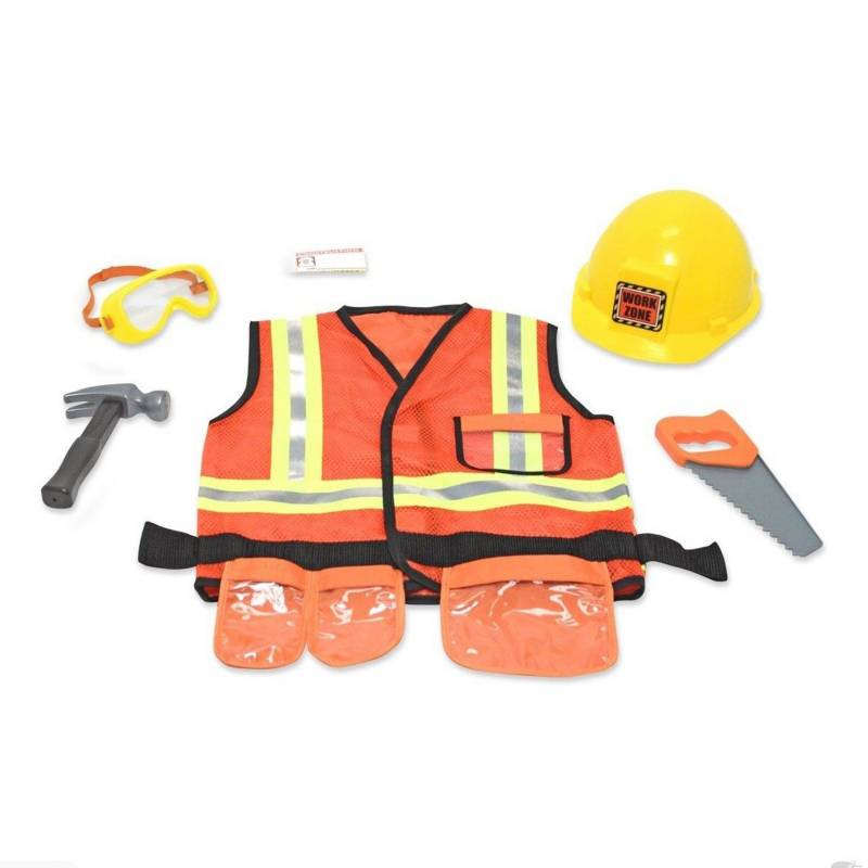 MELISSA & DOUG - Disfraz de Constructor