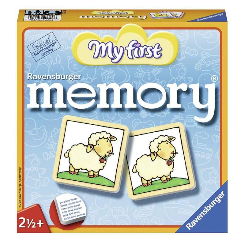 RAVENSBURGER - Juego Mi Primer Memory