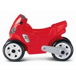 STEP 2 - Motocicleta Roja